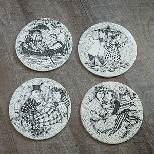 Bjorn Wiimblad calendar Ceramic plaques